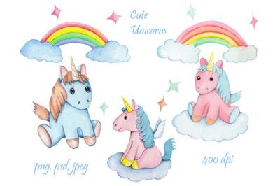 Cute tender Unicorns