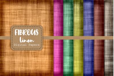 Fibrous Linen Digital Textile Papers
