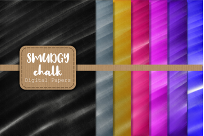 Chalk Smudge Digital Background Papers