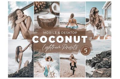 Mobile and Desktop Lightroom Presets, Instagram feed, Lifestyle Preset