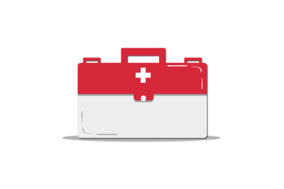 Medical Icon with Medicine Box