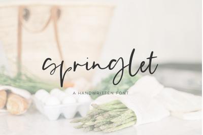 Springlet Script