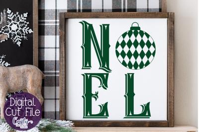 Noel Christmas Svg, Noel Svg, Farmhouse Christmas Svg