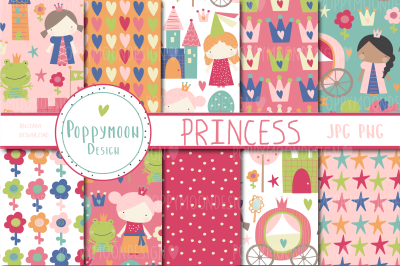 Princess paper set