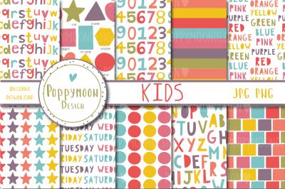 Kids patterns pack
