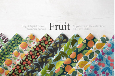 Fruit Summer Pattern Collection