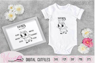 Baby girl Taurus  Zodiac sign newborn