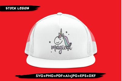 Magical Unicorn SVG