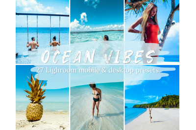 27 Ocean Vibes Lightroom Presets for Mobile and Desktop