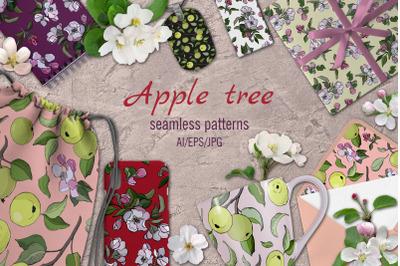 Apple tree  patterns