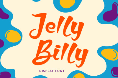 Jelly Billy - Bold Display Kids Font