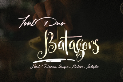 Batagors&Armant FontDuo