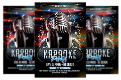 Karaoke Flyer #3