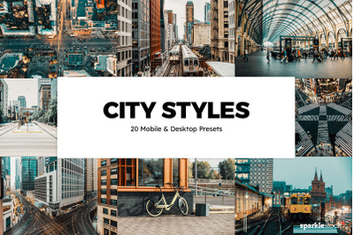 20  City Styles LR Presets