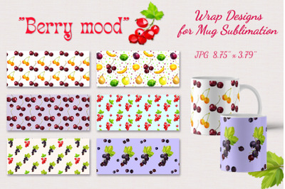Berry Mood packaging design. Sublimation.