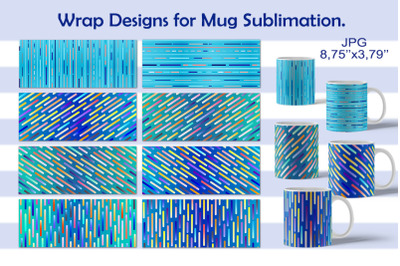 Packaging for a mug. Design. Sublimation.