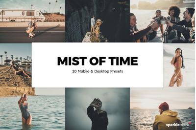 20 Mists of Time Lightroom Presets and L