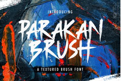 Parakan Brush - Display Brush Font