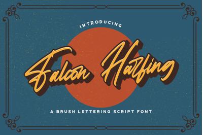 Falcon Harfing - Bold Script Font