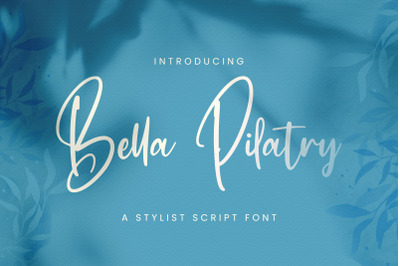 Bella Pilatry - Handwritten Font