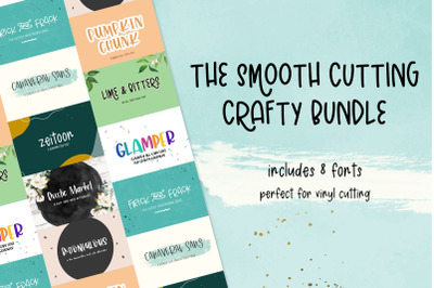 The Smooth Crafting Font Bundle