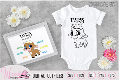 Baby boy Taurus Zodiac sign newborn