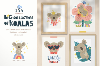 Big collection of koalas!