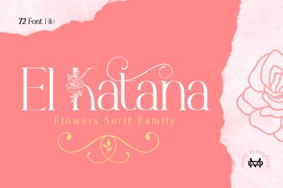 El Katana - Serif Family