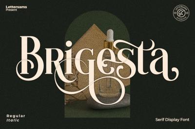 Brigesta - Seri Display Font