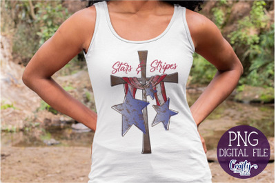 Stars And Stripes Png, Patriotic Sublimation Png