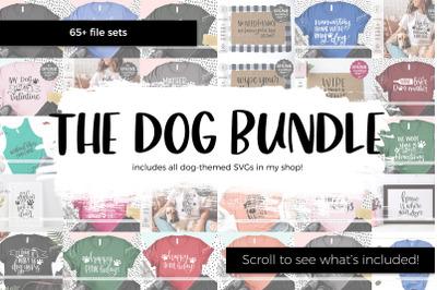 The Dog SVG Bundle