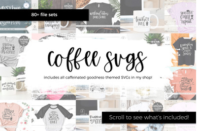 The Coffee SVG Bundle