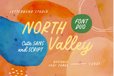 North Valley - Cute Sans and Script