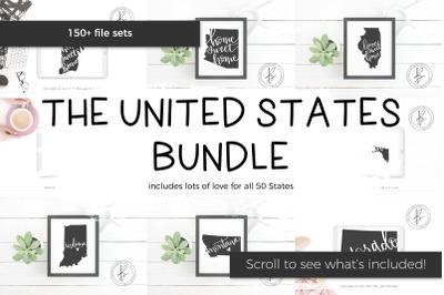 The United States SVG Bundle