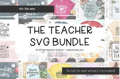 The Teacher SVG Bundle