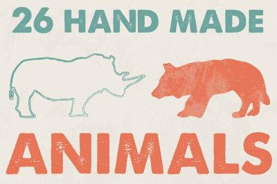 26 Animals [2 style]