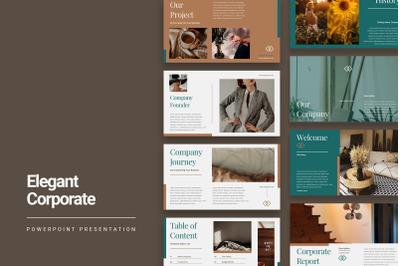Elegant Corporate Presentation Template