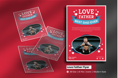 Love Father Flyer