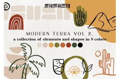 120+ modern abstract design elements vol.2
