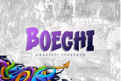 Boeghi - Graffiti Typeface