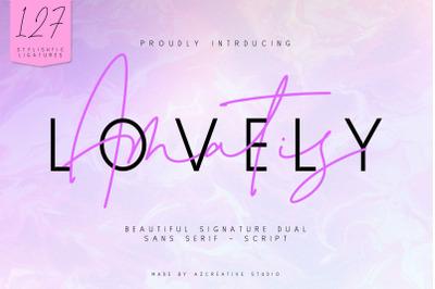 Lovely Amatis - Beautiful Signature Dual