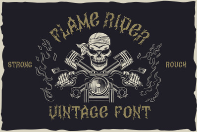 Flame rider