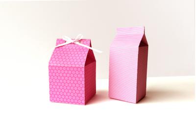 Milk Carton Boxes   SVG   PNG   DXF   EPS