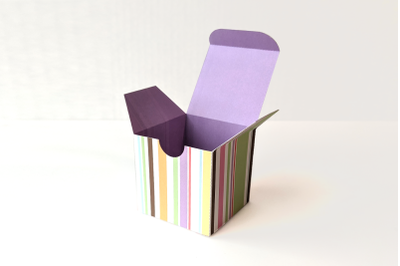 Cube Gift Box   SVG   PNG   DXF   EPS