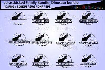 Jurasskicked Family Bundle