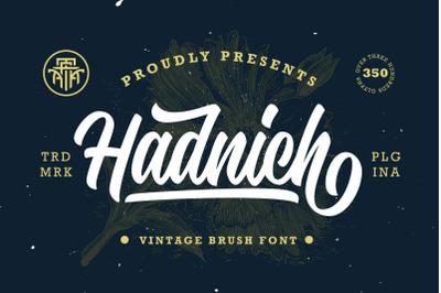 Hadnich - Modern Script