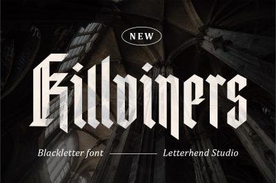 Killviners - Modern Blackletter Font