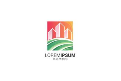 City Land Logo Template