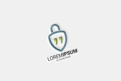 Lock Chat Logo