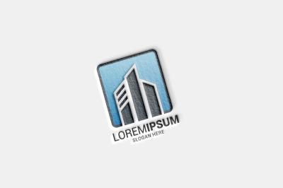 Building logo template